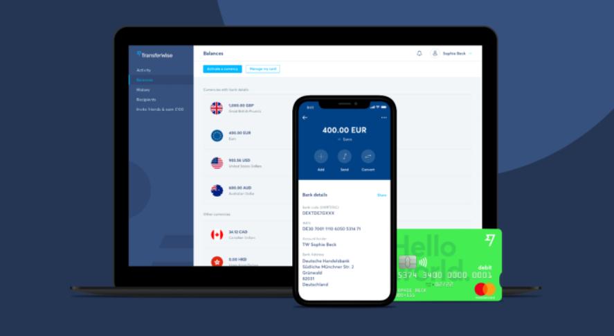 TransferWise - uvodni obrazek - zlevuje EUR