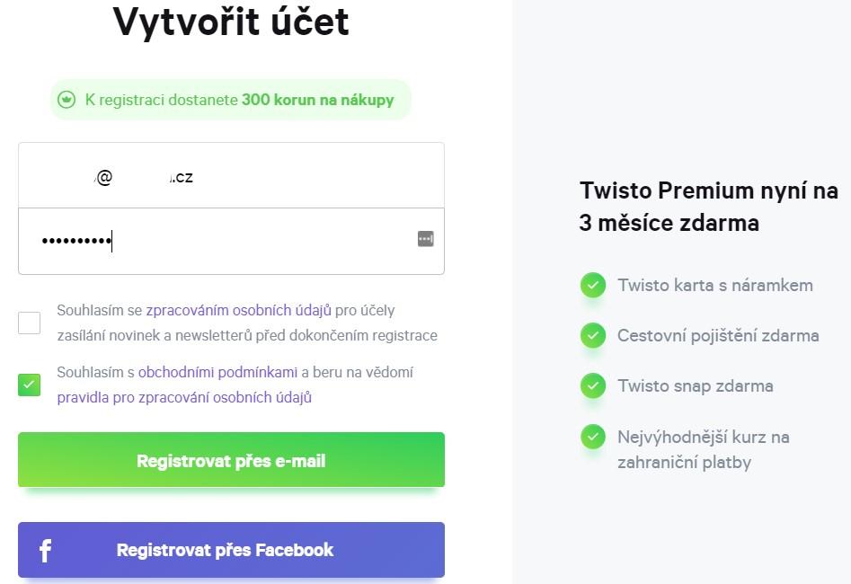 vytvorit ucet   twisto   osobnizkusenosti.cz