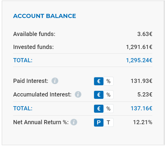 viainvest account balance