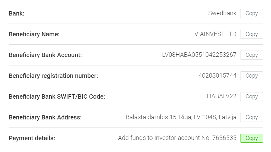 viainvest add funds