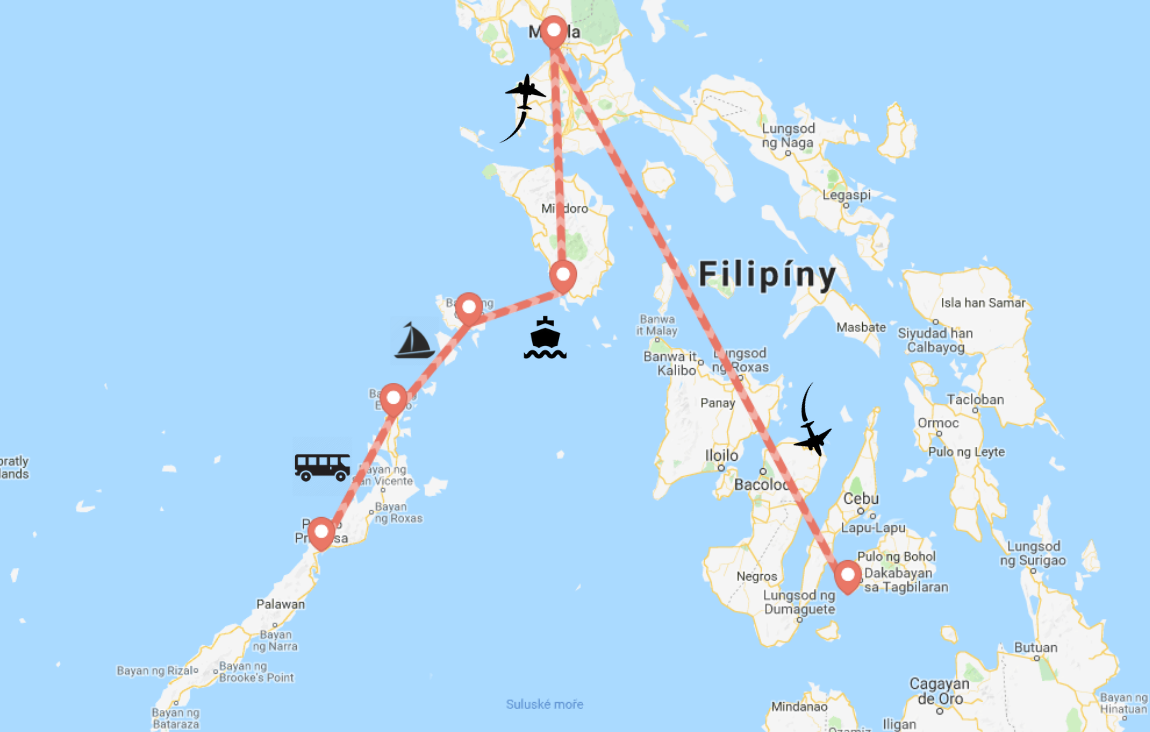our trip through the philippines