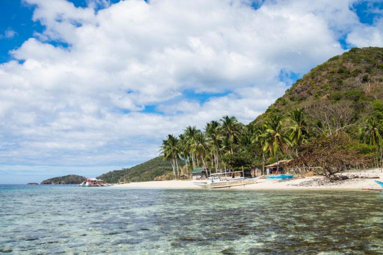 pláž na ostrově Culion, Filipíny