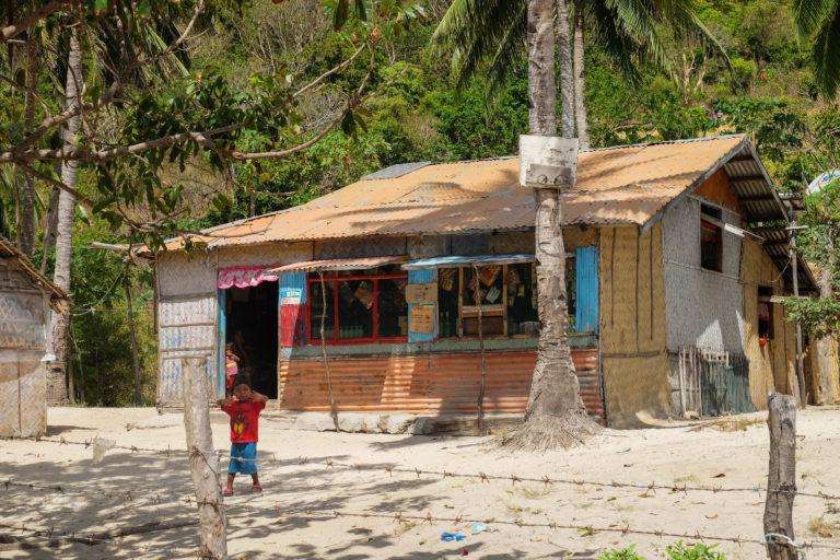 Setkání s domorodci na ostrově Culion, Filipíny