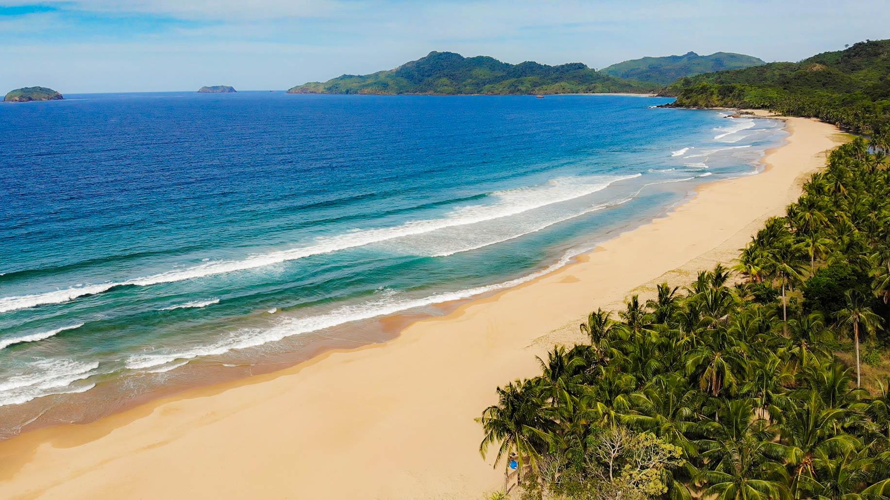 duli beach , palawan , zkušenosti