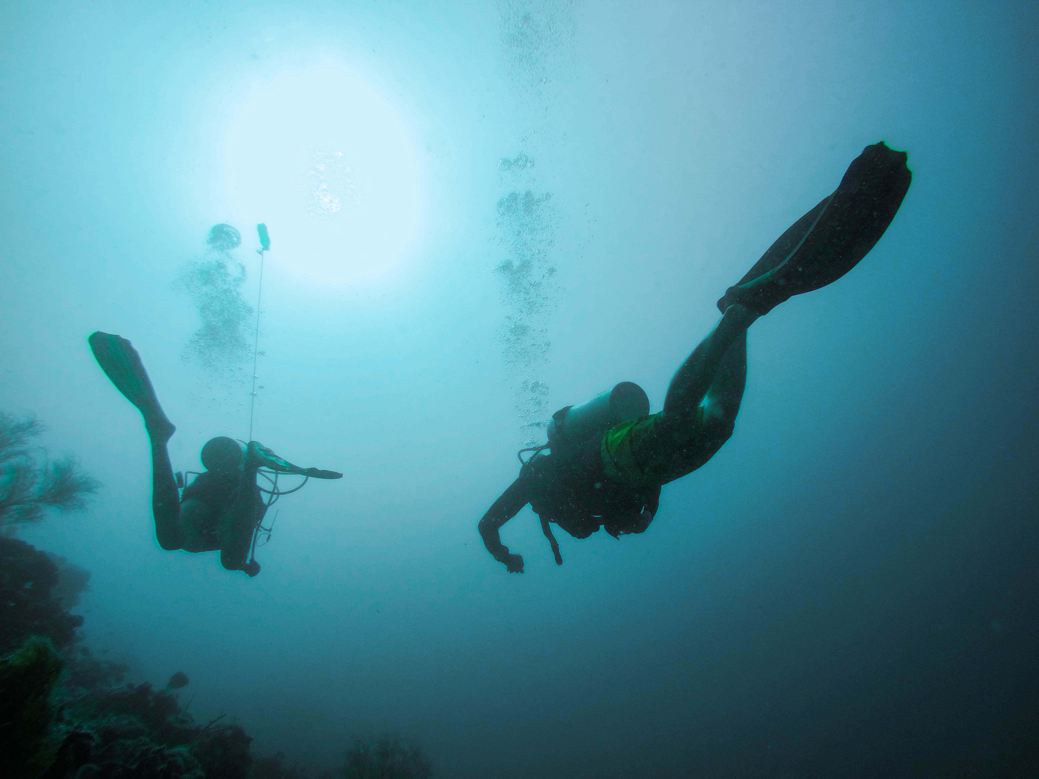 potápění - osobní zkušenosti - Lenka Martincová foto