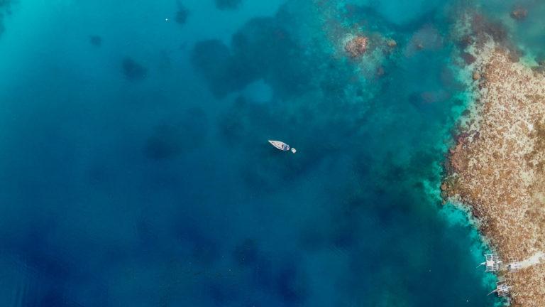 rybářská zátoka u ostrova Dicabaito