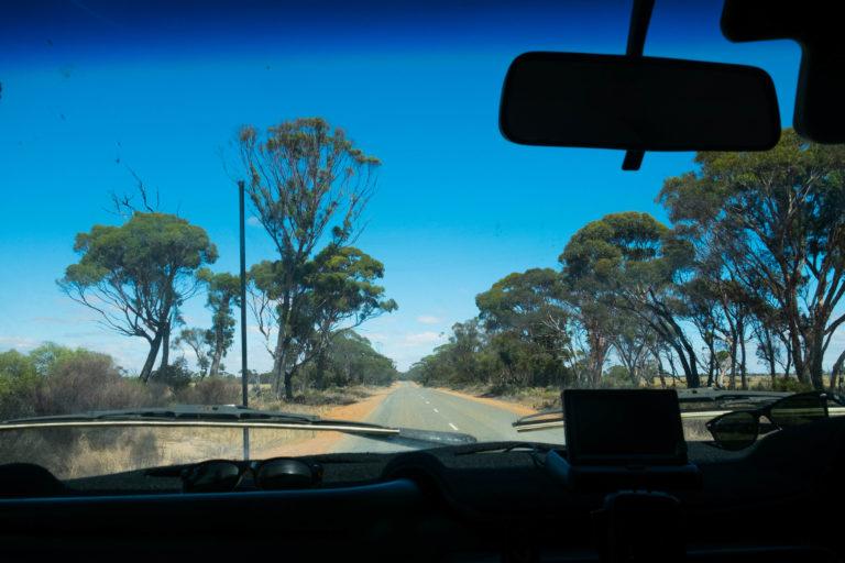 Za volanem v Austrálii