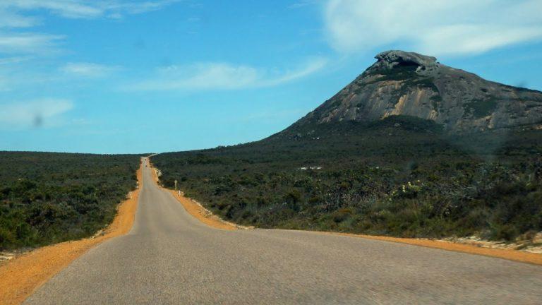 Kamenná hora Frenchman Peak