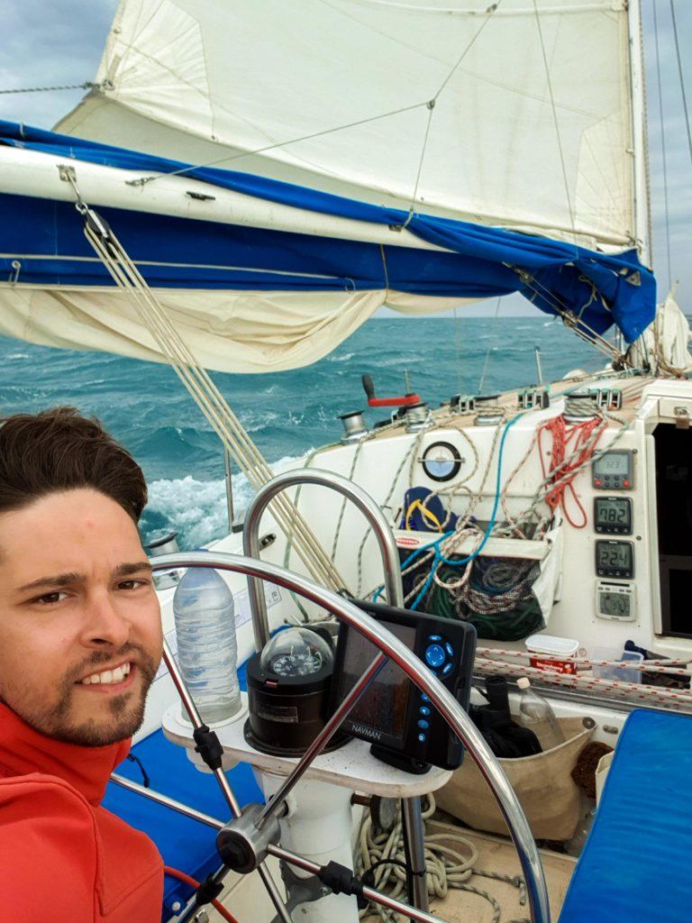 plachtění oceánem zkušenosti Austrálie
