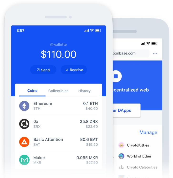mobilní aplikace CoinBase, zkušenosti
