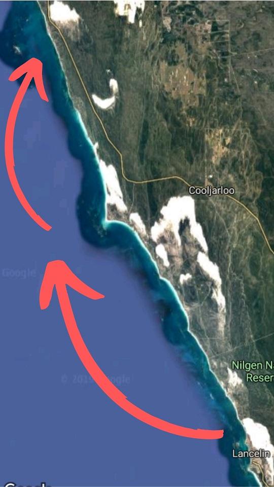 Yachting v Australii - mapa