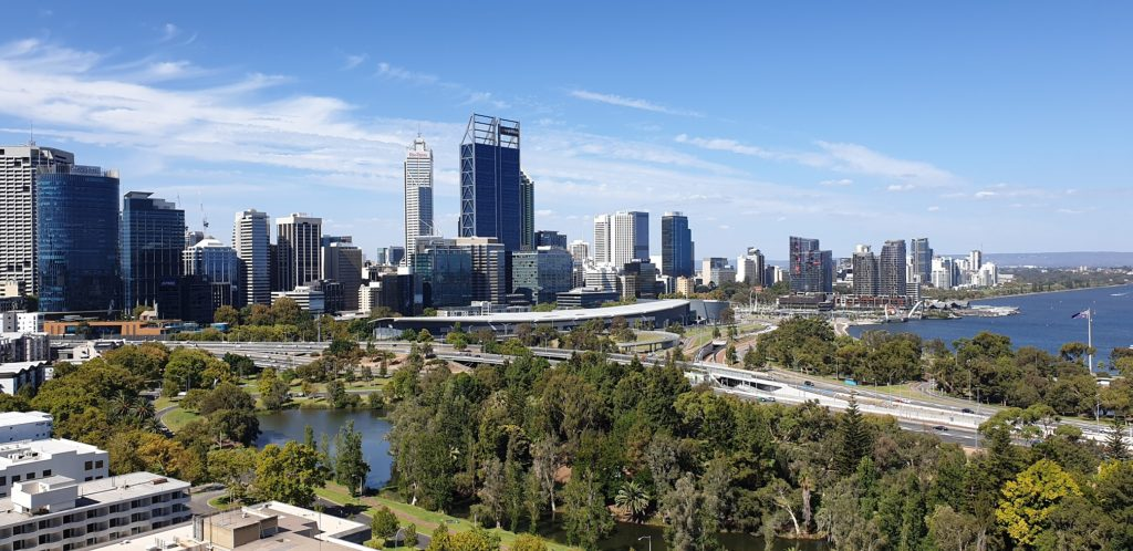 CBD, Perth, Západní Austrálie