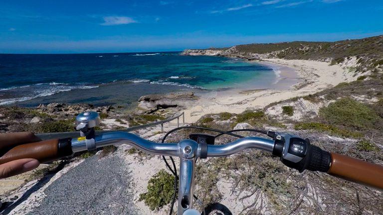 Ostrov Rottnest na kole