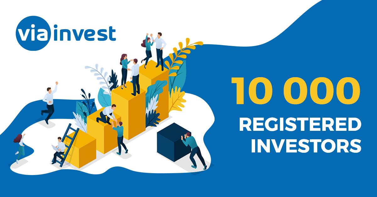 10000 investoru u viainvest