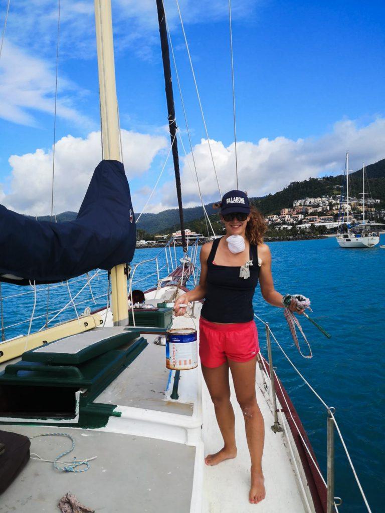 Práce na lodi, na plachetnici přes Workaway, Lenka Martincová Osobní Zkušenosti