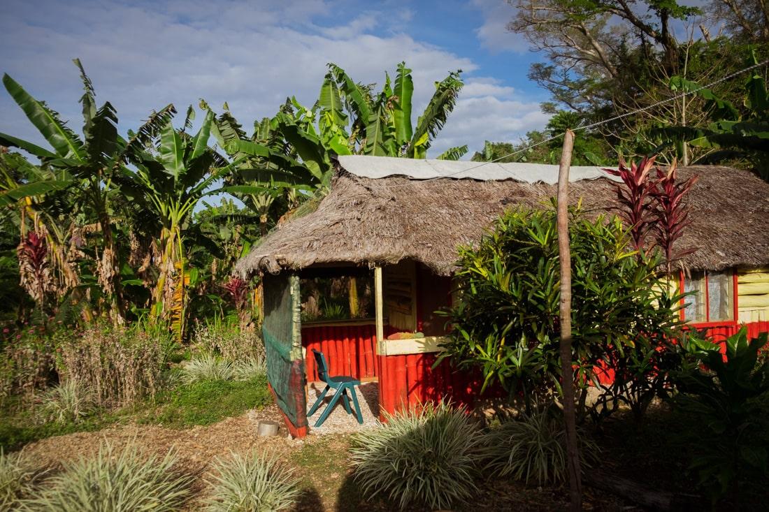 Obydlí na Vanuatu