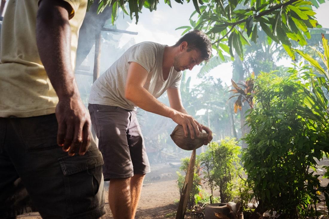 Jakub Eliáš, Osobní zkušenosti s prací dobrovolníka na ostrovním státě Vanuatu