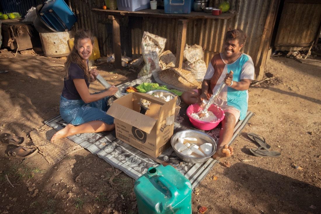 Dobrovolnictví na Vanuatu v Jižním Pacifiku, Lenka Martincová, Osobní Zkušenosti
