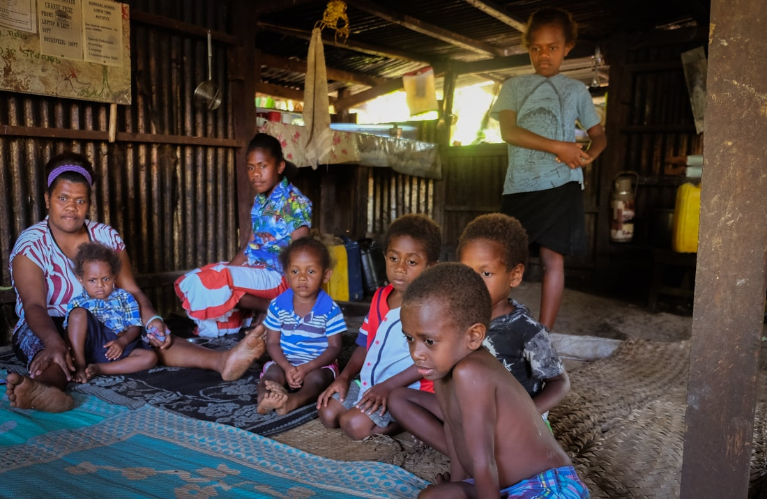 Rongdal komunita na Vanuatu, fotograf Lenka Martincová