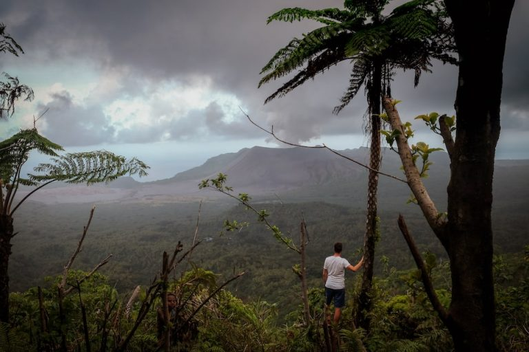 Ostrov Tanna, Vanuatu, Jižní Pacifik, sopka Mt. Yasur, fotograf Lenka Martincová