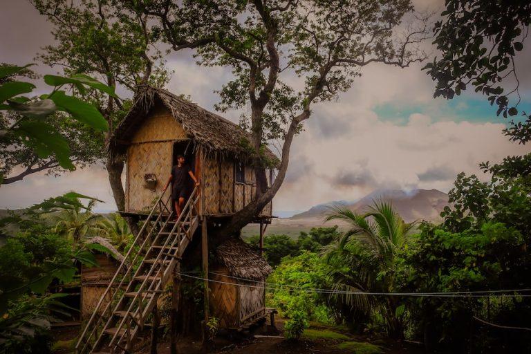 Ostrov Tanna, Vanuatu, Melanésie, fotograf Lenka Martincová