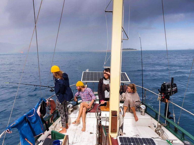 Zkušenosti s programem Workaway na plachetnici v Austrálii, výlet na Great Barrier Reef, Lenka Martincová