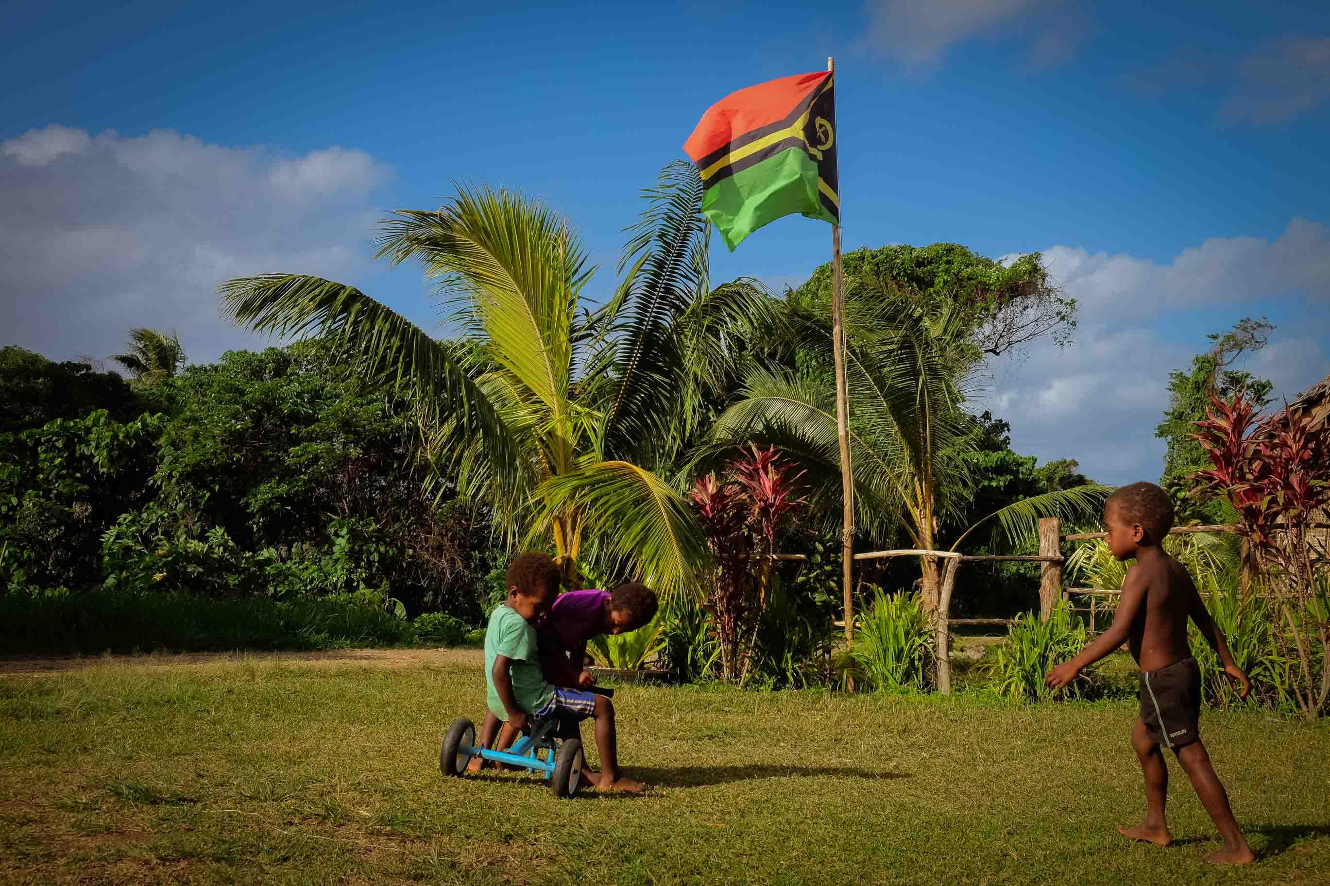 Dobrovolníkem ve škole v Jižním Pacifiku, na Vanuatu. Osobní Zkušenosti