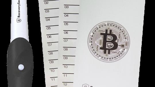 RecoverySeed: Bezpečnější uschování tajného klíče krypto peněženky